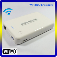 Wifi Router External 2.5 Ethernet HDD Enclosure