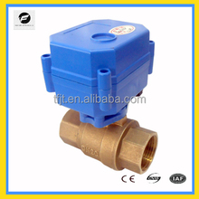 Electrical Actuator Valve 3/6VDC 12/24VDC 220V for 1/4''~2'' inch family and industry water system