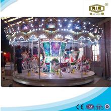 Popular in China cheap amusement park equipment carousel horses musical carousel