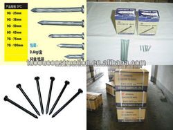 galvanized hardened concrete steel nails/stainless steel concrete nail