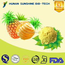 100% natural health food Pineapple Powder as raw material for food and beverage ingredient