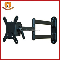 Black cast iron fits 10-24 inches Small VESA Universal Full motion removable hospital lcd wall mount