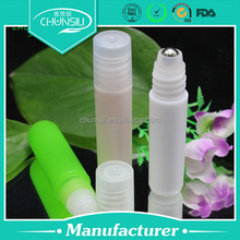 2015 own brand personal care 6ml Colored Roll On Perfume/oil Bottles