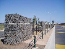 Fuente de la fábrica 8 * 8 gavión cesta de malla de alambre, Gaviones caja, Colchón