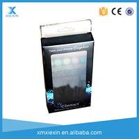 wholesale custom printing plastic phone case packaging box