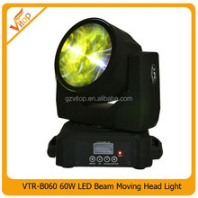 mini 60W LED stage light, LED moving head beam light 60W LED New design