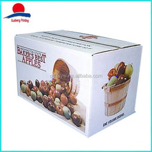 High Quality Colorful Popular Fruit Packaging Box