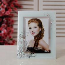 Hot sale photo picture frames with flower edges decoration