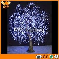 Superb artificial lighted weeping willow tree