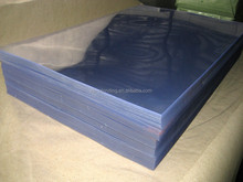 Transparent clear pvc sheets for pack