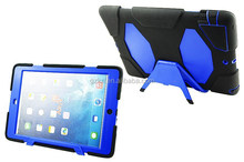 Factory direct multi-colors customized smart case for iPad air bumper stand armour