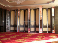 Best Choice SGS/CE MDF formaldehyde - free Noise Reduction Mdf Partition Design Walls For Conference Center