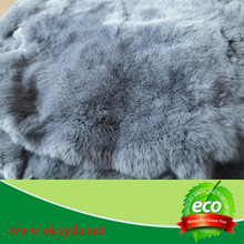 natural rex rabbit skins for vest