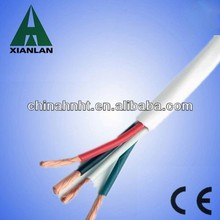 4 core flexible copper electrical wire pvc cover