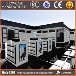 China custom rotation showcase,reception desk display case