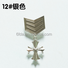 Delicate creative Military Metal badges,many design and size available