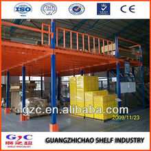 Steel Structure Mezzanine Floor Platform for Industrial Warehouse Storage