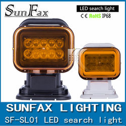 Super brightness Waterproof 50W,12V DC,off road&verhical, 7inch led sky search light
