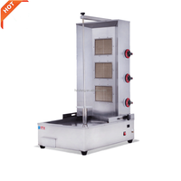 Infrared gas shawarma cutting machine for sale