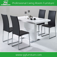 Factory Price MDF Restaurant Table Cheap Dining Table HD-010