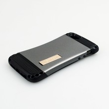 Slim armor case with holder for iphone5, combo case for iphone 5