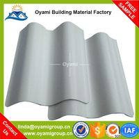Anti corrosive colored wave plastic roof tile