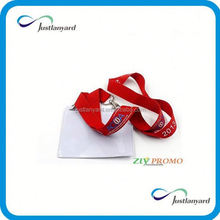 Customized promotional eco banner pen with lanyard