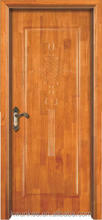 China OAK solid wooden door for residence use