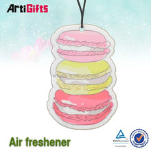 free samples fruit shap hanging scented e paper air freshener for car
