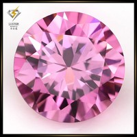 Round Diamond Cut 1.1mm Loose Pink Gemstone