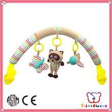 certificación gsv nuevo diseño infantil bebé de juguete colgando cama de juguete