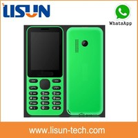 2.4 inch dual sim latest low price China mobile phone with whatsapp facebook OEM factory price