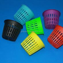 Hot Sale 2'' 3'' 4'' white Plastic Net Pots