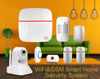 WIFI push alert home automation WIFI GSM security product best alarm system work with solar outdoor siren