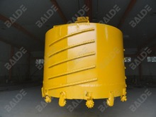Core barrel with roller bits for drilling
