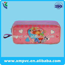 2014 School plastic pvc pencil case with zipper XYL-S009
