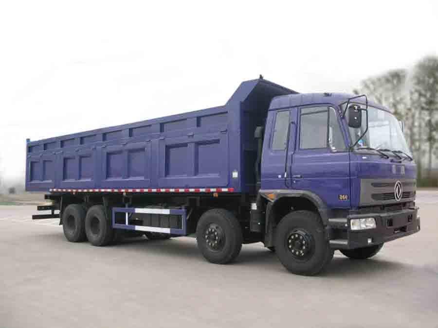 Dongfeng camion à benne, 8 * 4 camion benne, Capacité de chargement 32 tonnes