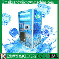coin operated ice vending machine with IC CARD