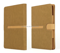 360 rotation leather case for iPad Air 2, For iPad Air 2 Leather Case