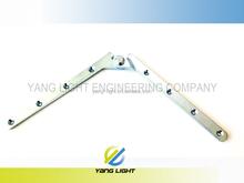 Taiwan Manufacturer Made 180degrees Punching 220mm Two Sides Folding Hinge