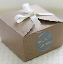 50 Mini Kraft Paper Cake Box ,Macaron Gift Bakery Cookie Favor Cupcake Chocolate Packaging Box Christmas Wedding TB35