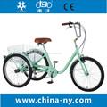 gw 7020 24 polegadas três rodas triciclo a pedais para adultos