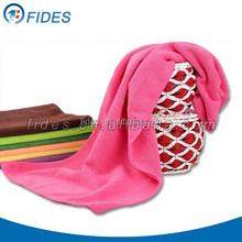 Factory Ningbo Wholesale Microfiber bath/beach/travel/gym/sports towel, car cleaning Microfiber Towel