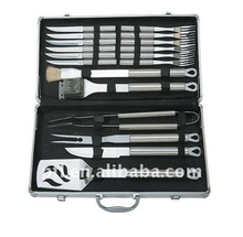 Magic 18pcs BBQ tools set in Alu. case B018AC