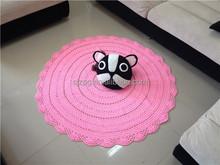 Ganchillo hecho a mano alfombras, crochet bebé manta, los patrones del ganchillo