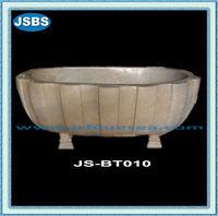 Antique Polishing Marble Bathroom Tub Surrounds On Sale