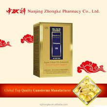 Health care supplement for immunity enhancement growing reishi mushrooms spore oil capsule