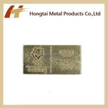 New Design Hot Sale Metal Hotel Staff name tag/name badge/lapel pin