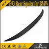 Carbon Fiber Material 3 Series E93 Rear Spoiler for BMW Convertible