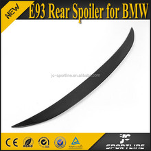 Carbon Fiber Material 3 Series E93 Rear Spoiler for BMW Convertible